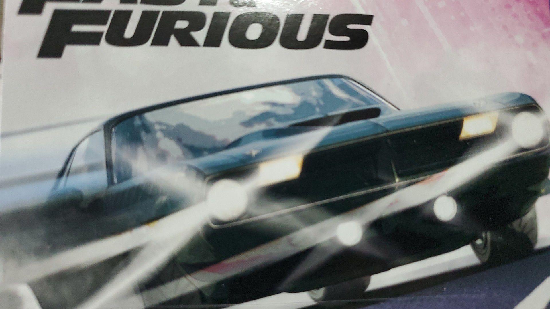 Hot Wheels Fast and Furious 70 Plymouth AAR Cuda