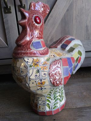 Photo CERAMIC TILE ROOSTER