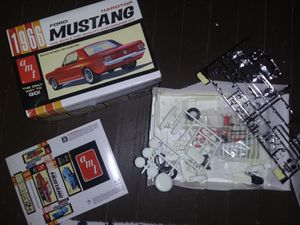 Photo 1966 Ford Mustang model car