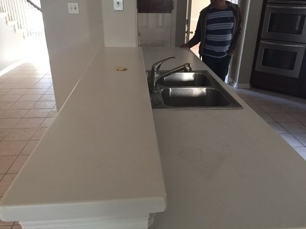 Re Sanding Corian Countertops