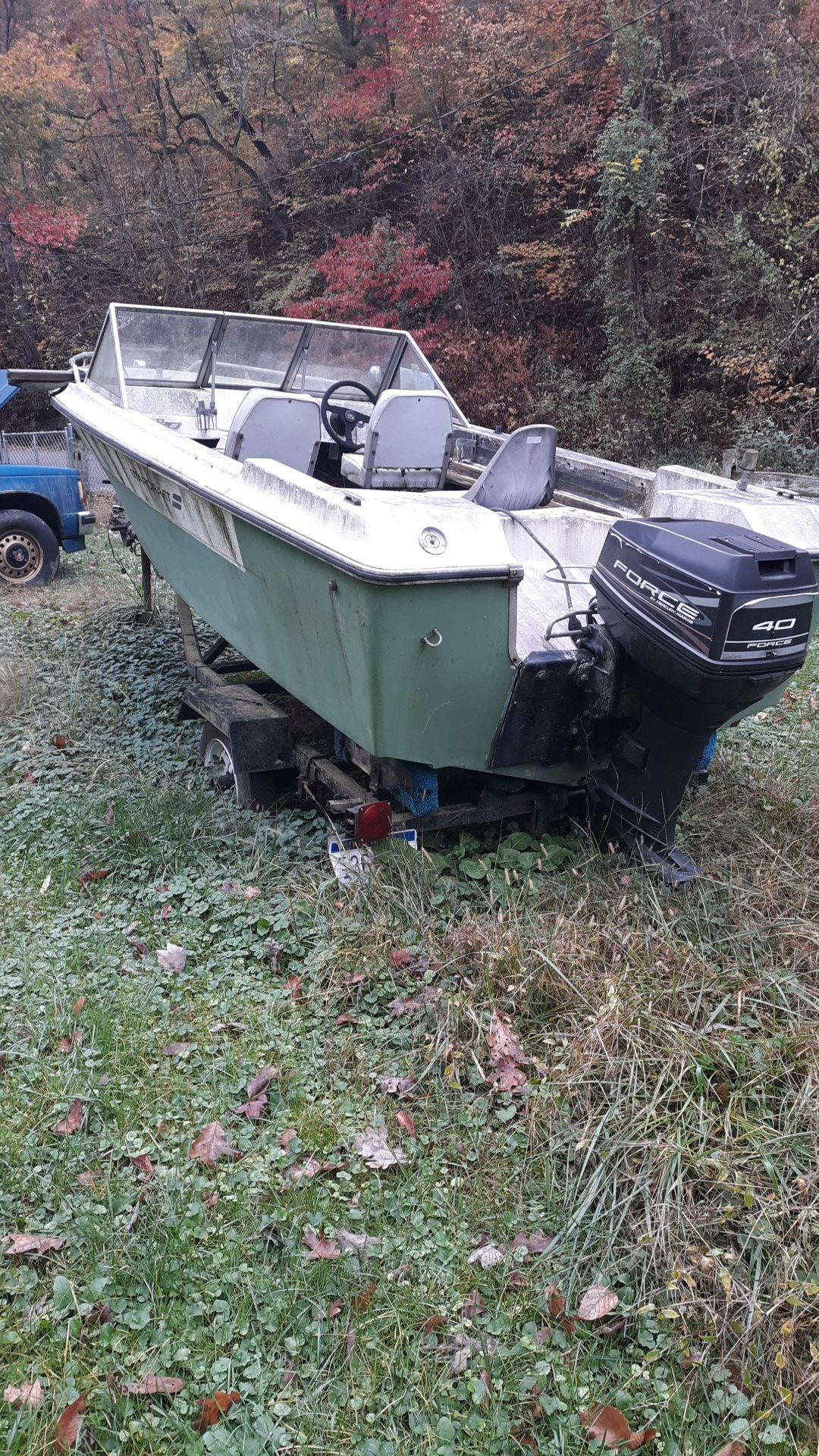 Photo Starcraft boat 17 contact info removed boat is not sold