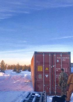 40' High Cube Used Connex Storage Containers for Sale! Thumbnail