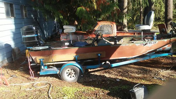 1984 wetline aluminum boat  for Sale in Auburn, WA - OfferUp