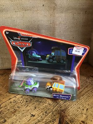 Photo Buzz and Woody Movie Night Pixar Cars ~ New in Package