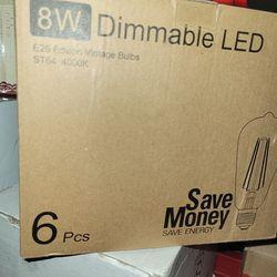 Edison Vintage Light Bulbs. 8w 40000k Thumbnail