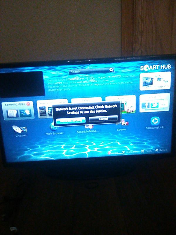 Samsung smart hub tv for Sale in Moreno Valley, CA - OfferUp