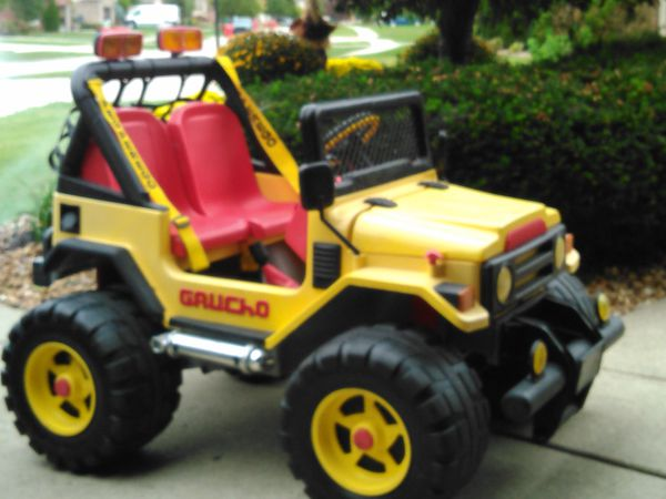 Peg Perego Gaucho Jeep Battery : Peg perego gaucho jeep power wheels new battery for sale