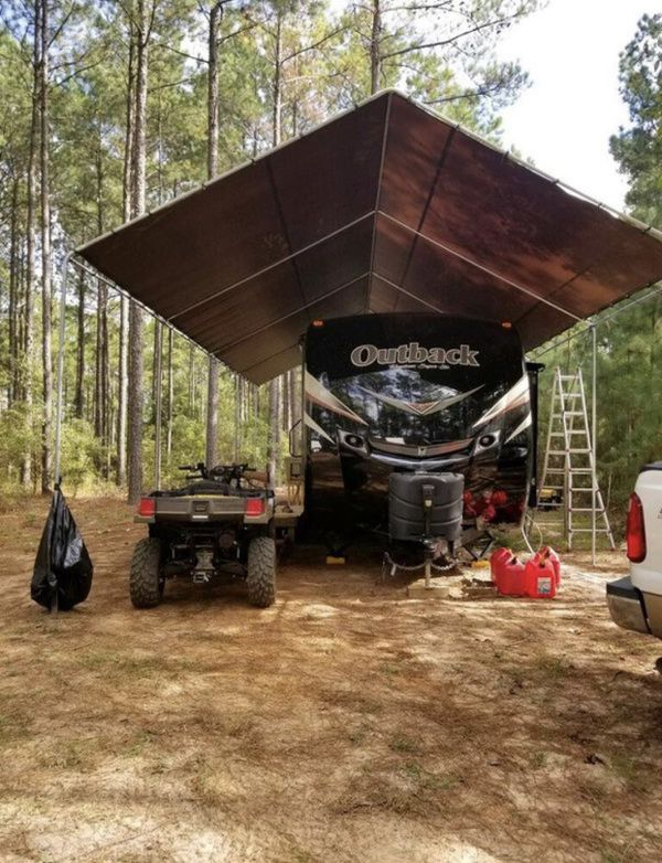 rv canopy carport tent camper 20x40x15H for $399 for Sale ...