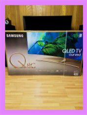 65 inch Samsung Curved QLED 4K SMART ///Details ONLY at 72O 5O2 I46l for Sale in San Diego, CA