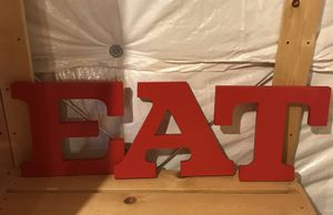 EAT Letter Set for Sale in Inwood, WV