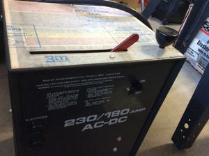 Craftsman 230/180 amp AC-DC Welder and leads for Sale in Kissimmee, FL