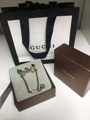 d81b8b428ec Gucci Crystal fruit chain bracelet for Sale in Philadelphia