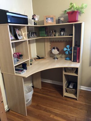 2 desks standing mirror for Sale in Fairfax, VA