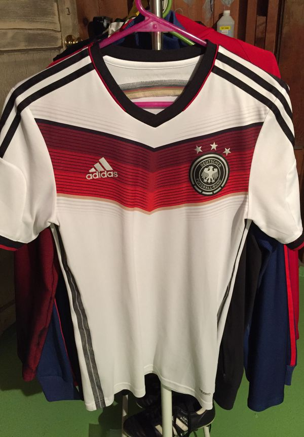 58a3fb4da Germany 2014 soccer jersey World Cup trikot fußball authentic small adidas