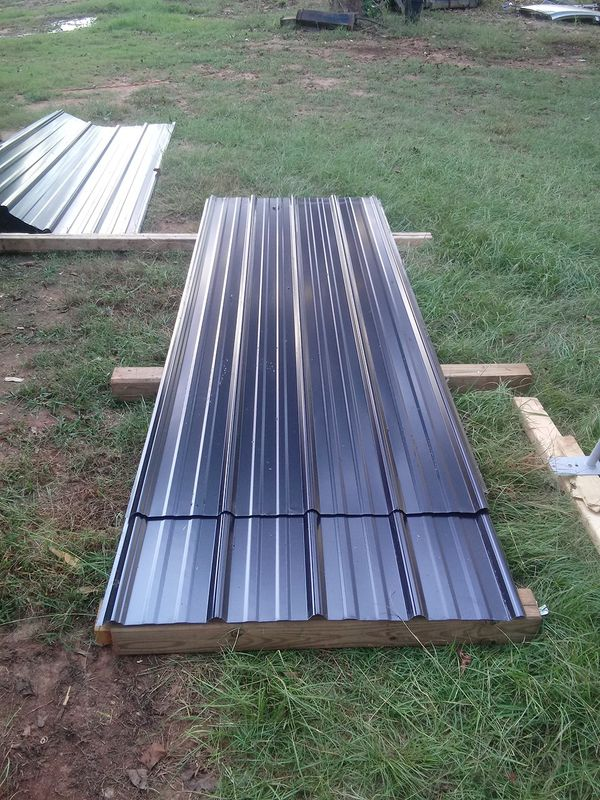 14 Corrugated Steel Roof Panels For Sale In Greer Sc Offerup