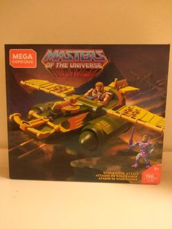 Masters of the universe Mega Construx Wind Raider Brand New In Box