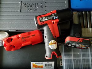 SNAP ON 3/8 CORDLESS IMPACT GUN for Sale in Falls Church, VA