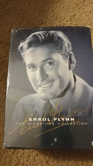 7 new Errol Flynn DVD movie collection for Sale in Irwin, PA