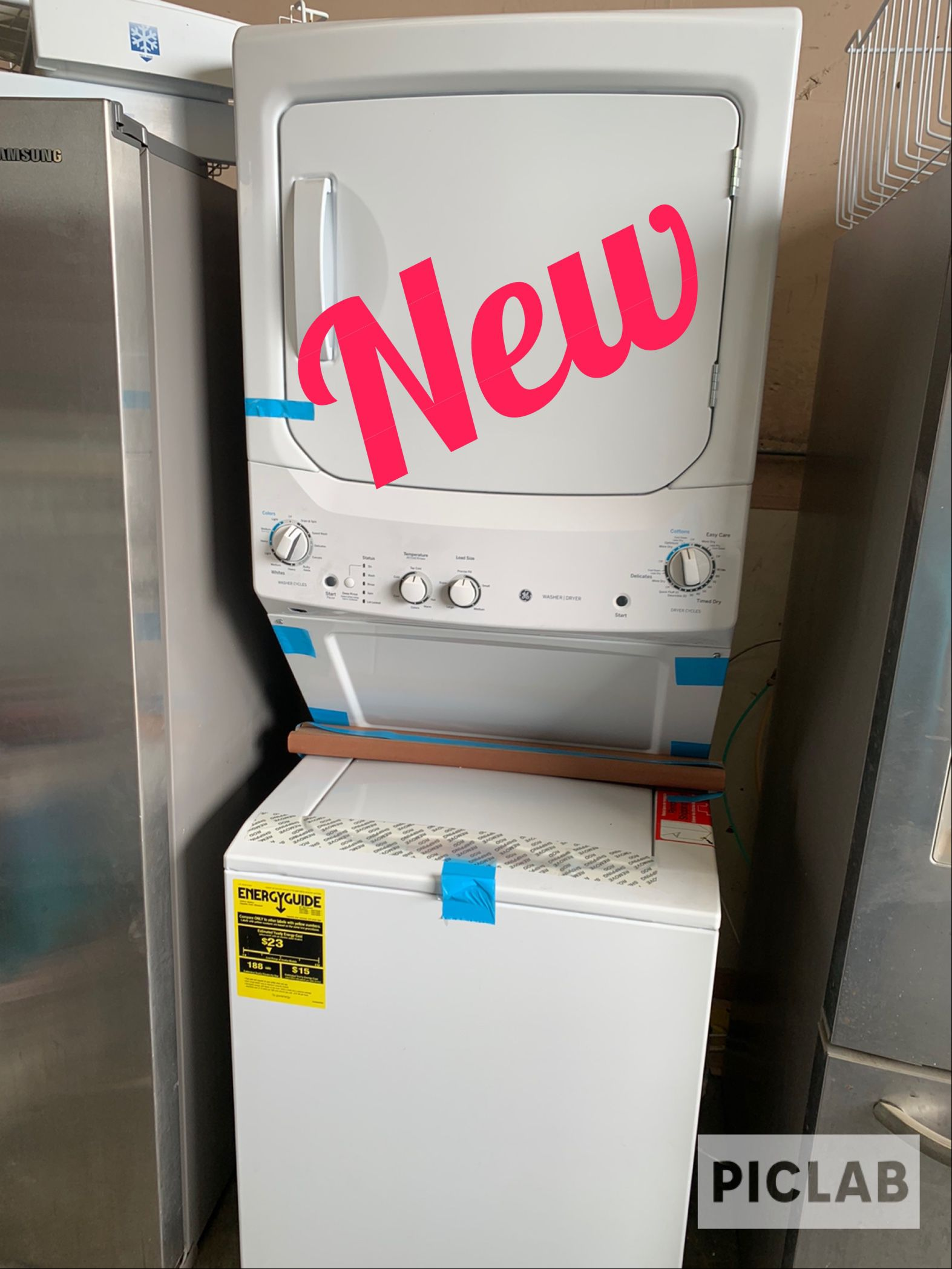 Brand New Out Box GE Stackable Dryer Electric