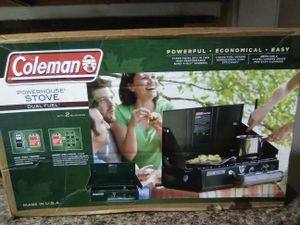 Coleman camping stove for Sale in Baltimore, MD