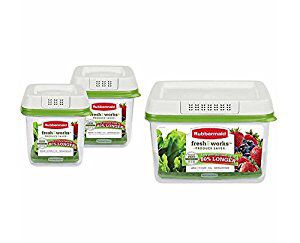RUBBERMAID FRESHWORKS VEGETABLE STORAGE CONTAINERS NEW IN BOX for Sale in Herndon, VA