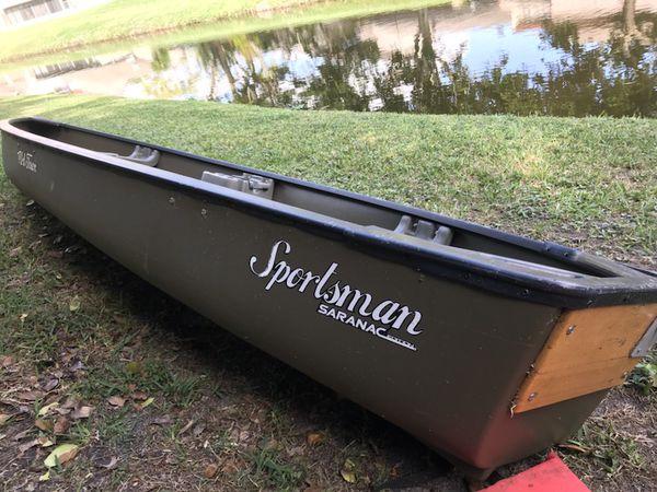 Old Town Sportsman Canoe