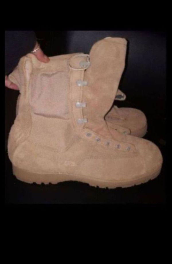 798fa67fc29b Military Combat Boots Size 10.5