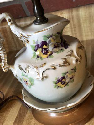 Gorgeous vintage teapot lamp for Sale in Peoria, AZ