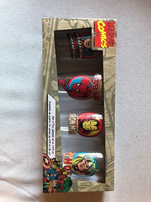 Vintage Marvel Avengers Pint Glasses (4) for Sale in Washington, DC