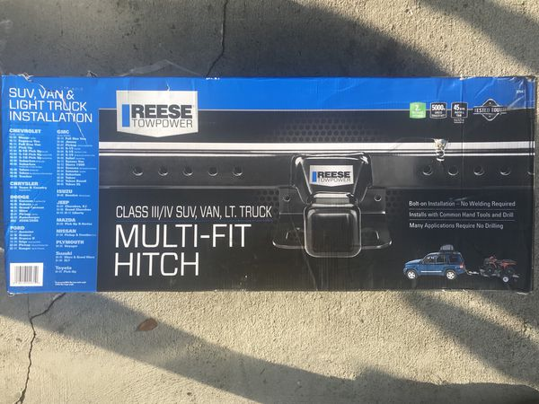 Reese Towpower 37042 Class Iii Multi Fit Receiver Hitch Brand New For Sale In Spring Hill Fl Offerup
