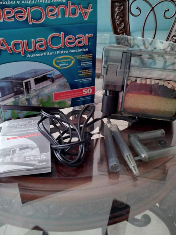 Aqua clear Fish Tank 50 Filter