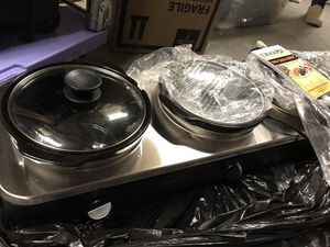 Crock pot slow cooker trio, like new for Sale in undefined