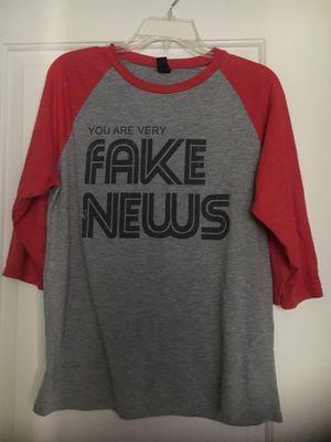 Fake News Newseum Tee, Unisex, Medium for Sale in Arlington, VA