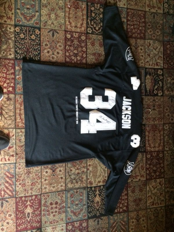 b0538f98d88 New and Used Raiders jersey for Sale in Hesperia, CA - OfferUp