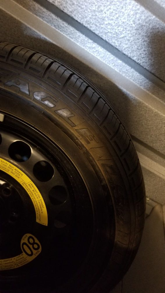 215 55 16 Goodyear Tire with 5x114 Rim