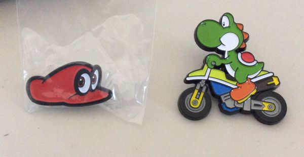 Super Mario Odyssey Cappy pin Nintendo switch for Sale in Las Vegas, NV -  OfferUp