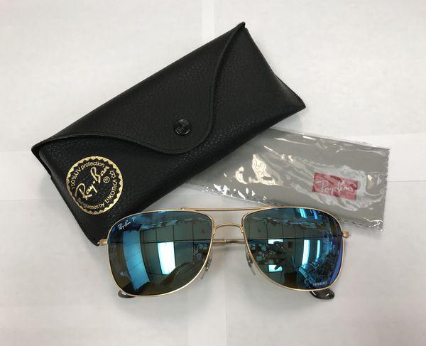 40af1cd5af Ray-ban RB3543 CHROMANCE sunglasses 112 A1 Gold matte polarized 59-16-140