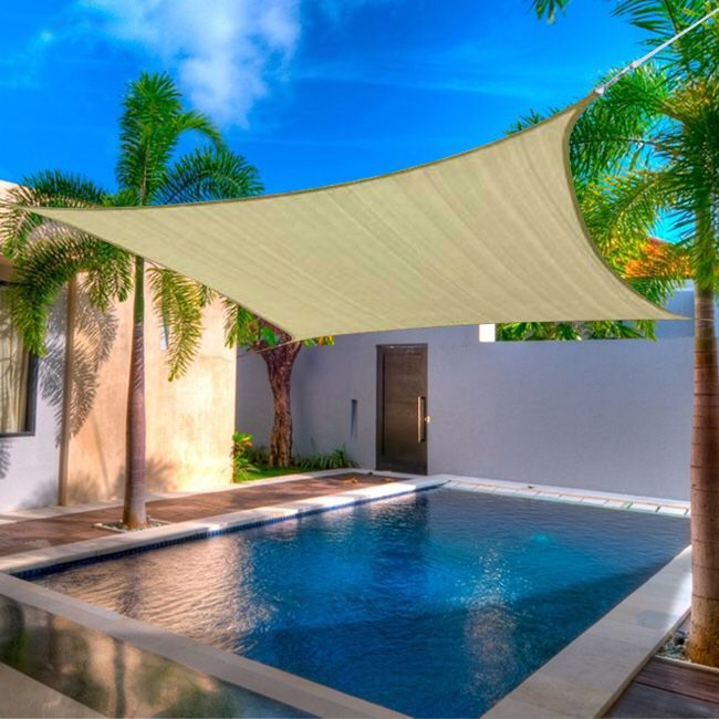 BRAND NEW TOP SAIL SHADE 12FT - TAN FIRM $45