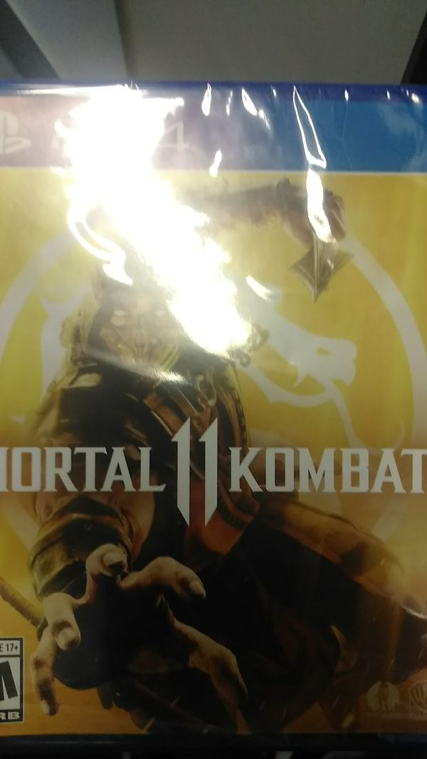 Brand new PS4 Mortal Kombat 11 for Sale in Dallas, TX - OfferUp