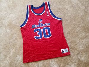 Vintage Champion Jersey Washington Bullets for Sale in Washington, DC