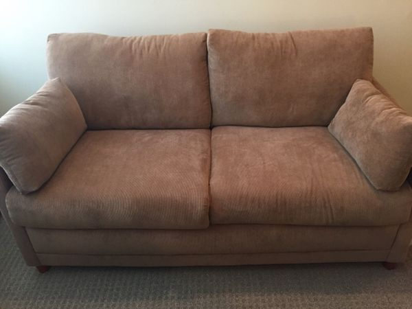 Jennifer Convertibles Tan Sleeper Sofa