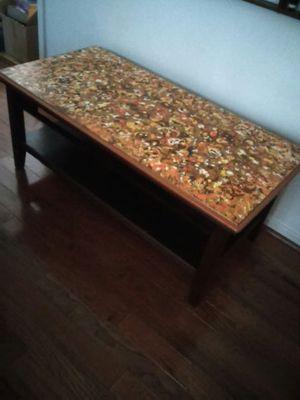 Large Coffee Table Custom made Retro Art Furniture for Sale in Richmond, VA
