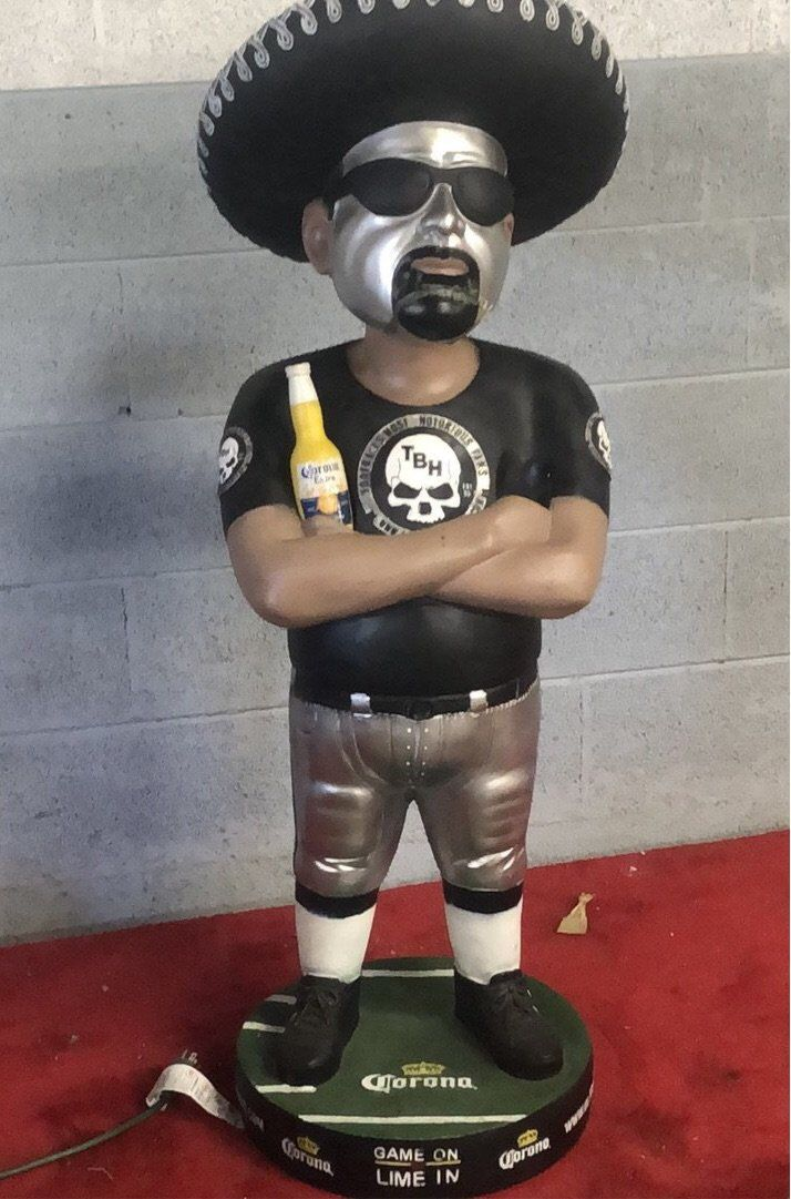 TBH NFL 4ft Bobble Head Statue Corona Huge