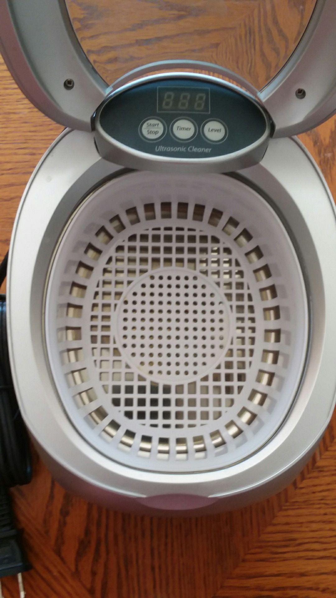Brookstone ultrasonic cleaner