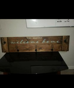 Coat rack for the entrance of the house Thumbnail