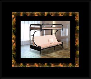 Twin futon bunkbed frame for Sale in Manassas, VA