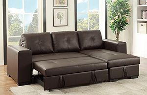 CONVERTIBLE SECTIONAL ESPRESSO FINISH 🔥HOT DEAL 🔥 for Sale in Hollywood, FL