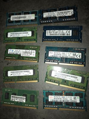 8GB and 4GB laptop memory for Sale in Houston, TX