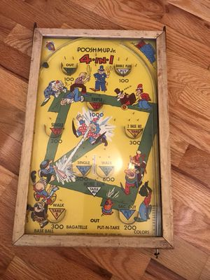 Antique table top game - pinball for Sale in University Place, WA
