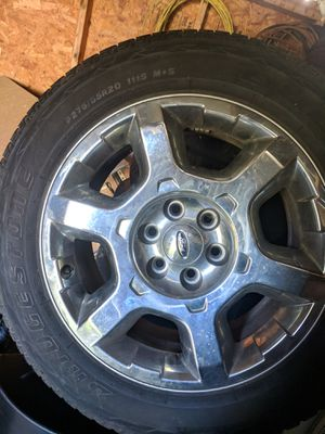 Ford F150 wheels 20inch(4) for Sale in Rockville, MD